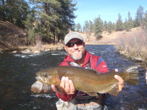 Jeremy Hamilton with BIG South Platte Rainbow