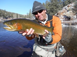 Guide Jay at Deckers Rainbow Winter