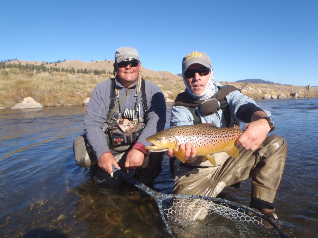 Geno and guest hunting fall run browns