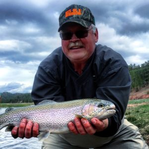 Rainbow Falls Trout Fishing