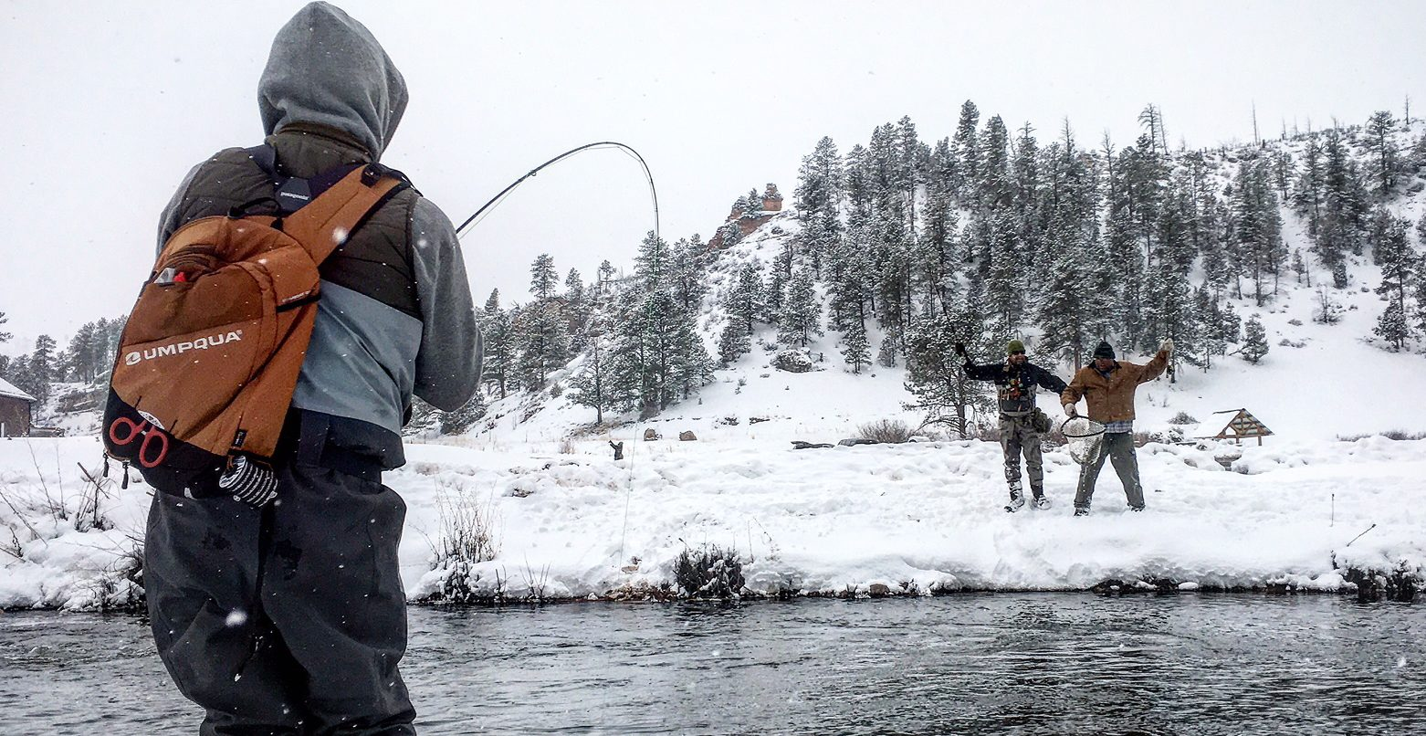 Fly Fishing Colorado in Winter