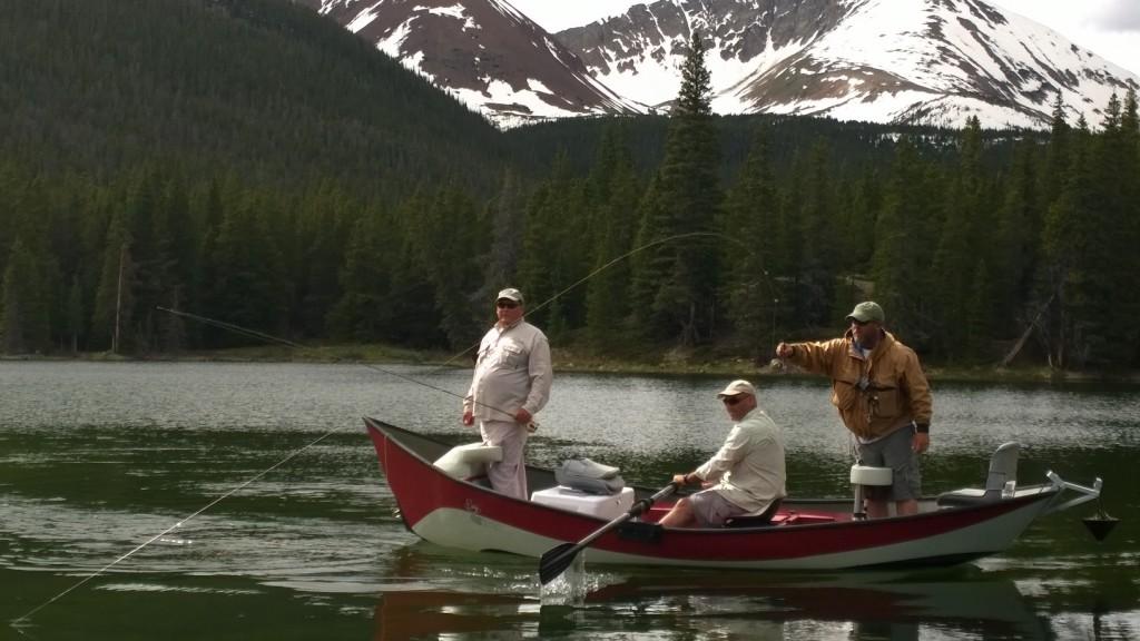 Bartle Lakes Drift Boat