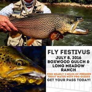 Colorado Fly Fishing - Fly Festivus