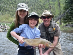 Colorado Fly Fishing Happy Guests