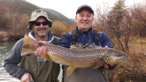 Big Brown Trout - Runoff Season
