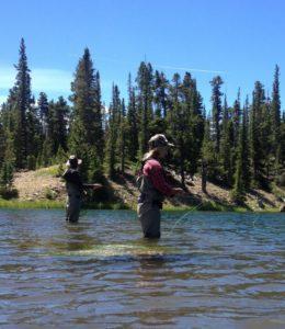Fly Fishing at Bartle Lakes