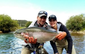 Marcelo fly fishing guide