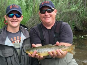 Father - Son Fly Fishing