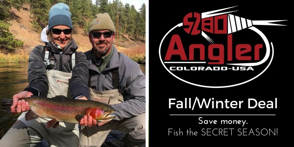 Colorado Winter Fly Fishing
