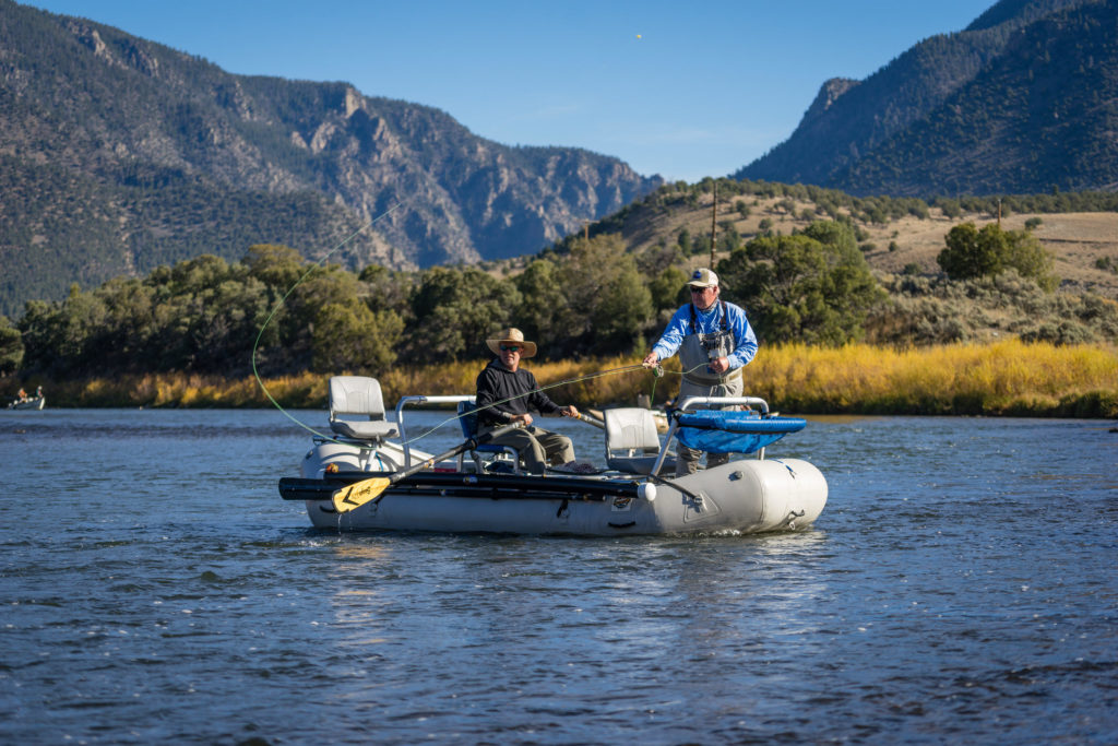 Guided float trips for Colorado fishing trips