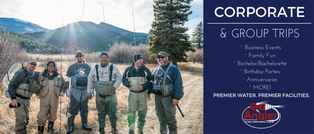 Group and corporate fly fishing trips - Colorado - Boxwood Gulch Ranch