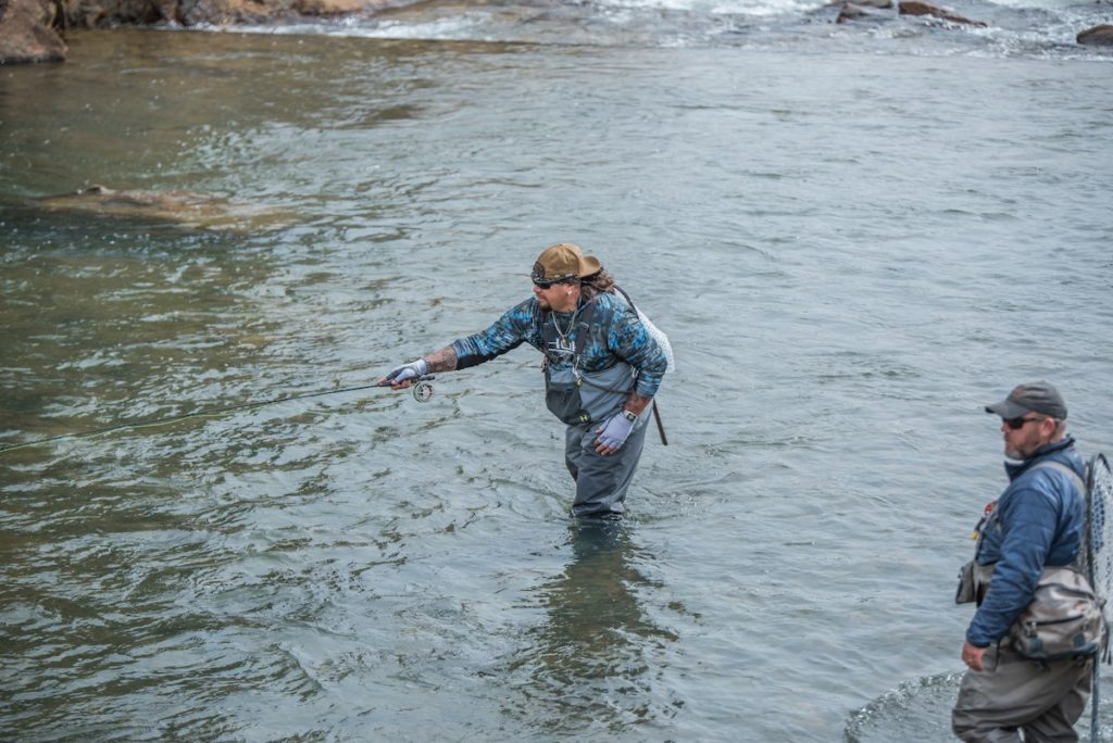Professional guide ron pecore colorado fly fishing guides for Colorado fishing guide