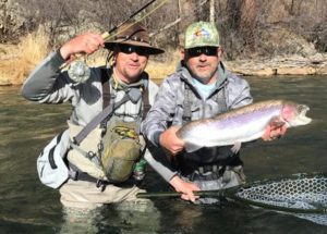 How much weight when fly fishing