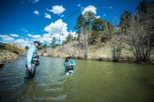 Fly fish Boxwood Gulch Ranch - 5280 Angler