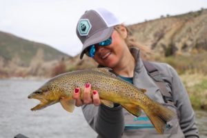 Courtney Despos, fly fishing guide