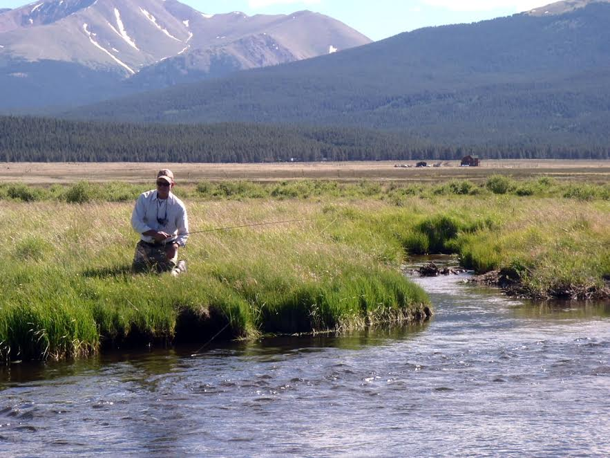 fly fishing runoff in colorado