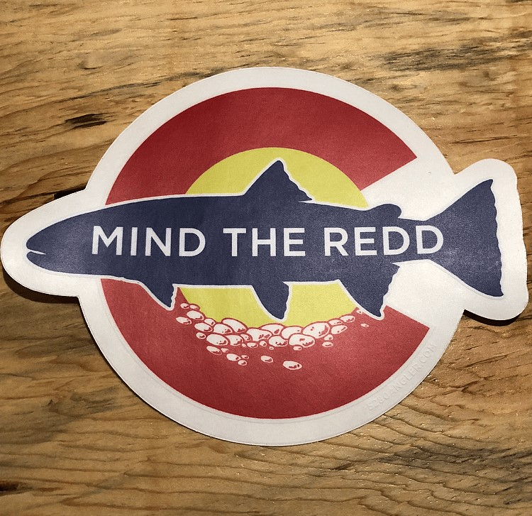 ColoREDDo Mind the Redd ™ DECAL